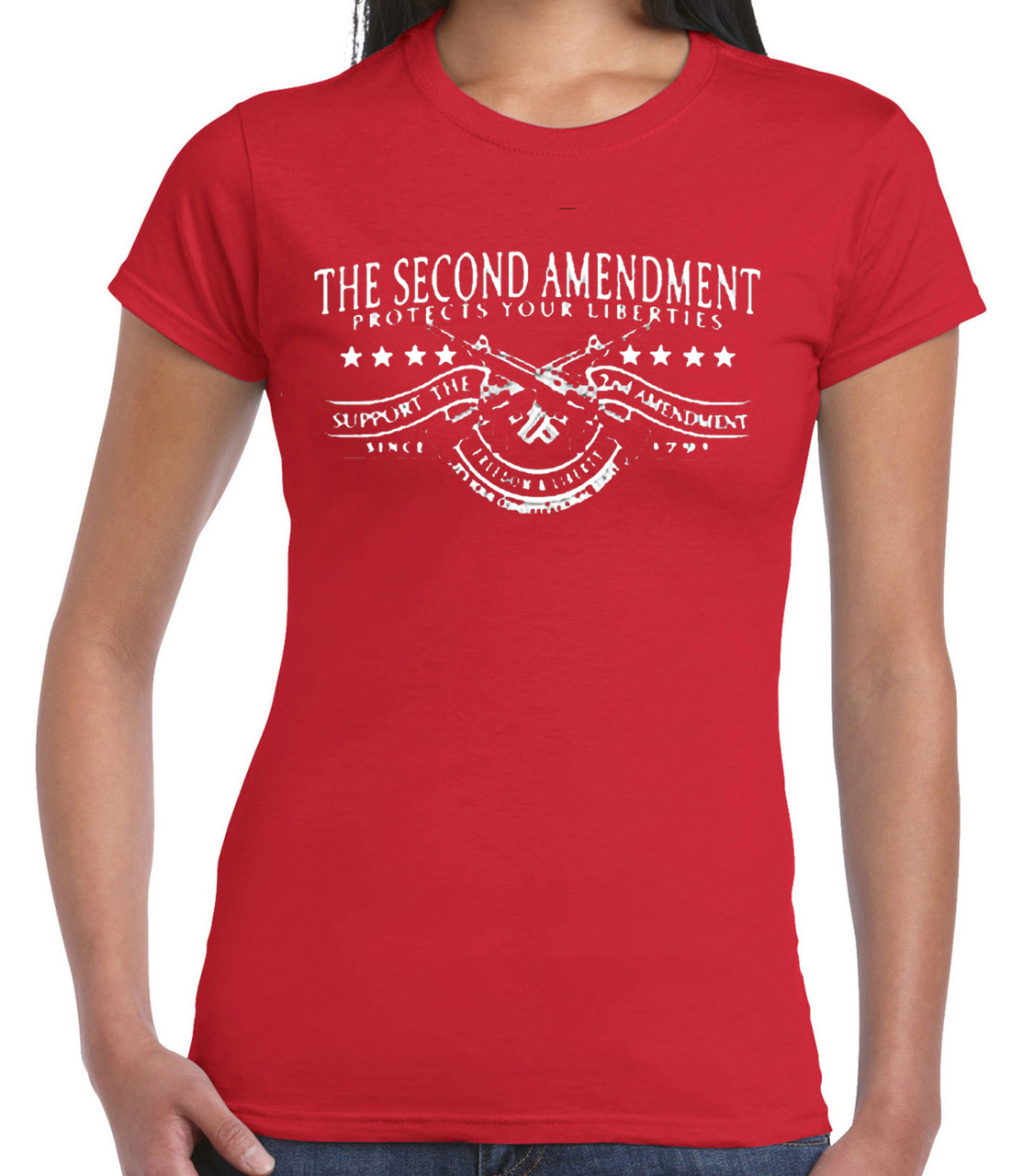 2nd Amendment Gun Women's Short Sleeve T-Shirt