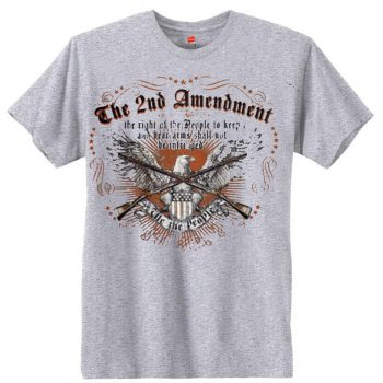 2nd Amendment Men's Short Sleeve T-Shirt