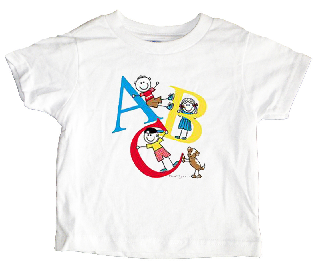 ABC Kids Letters Toddler T-Shirt
