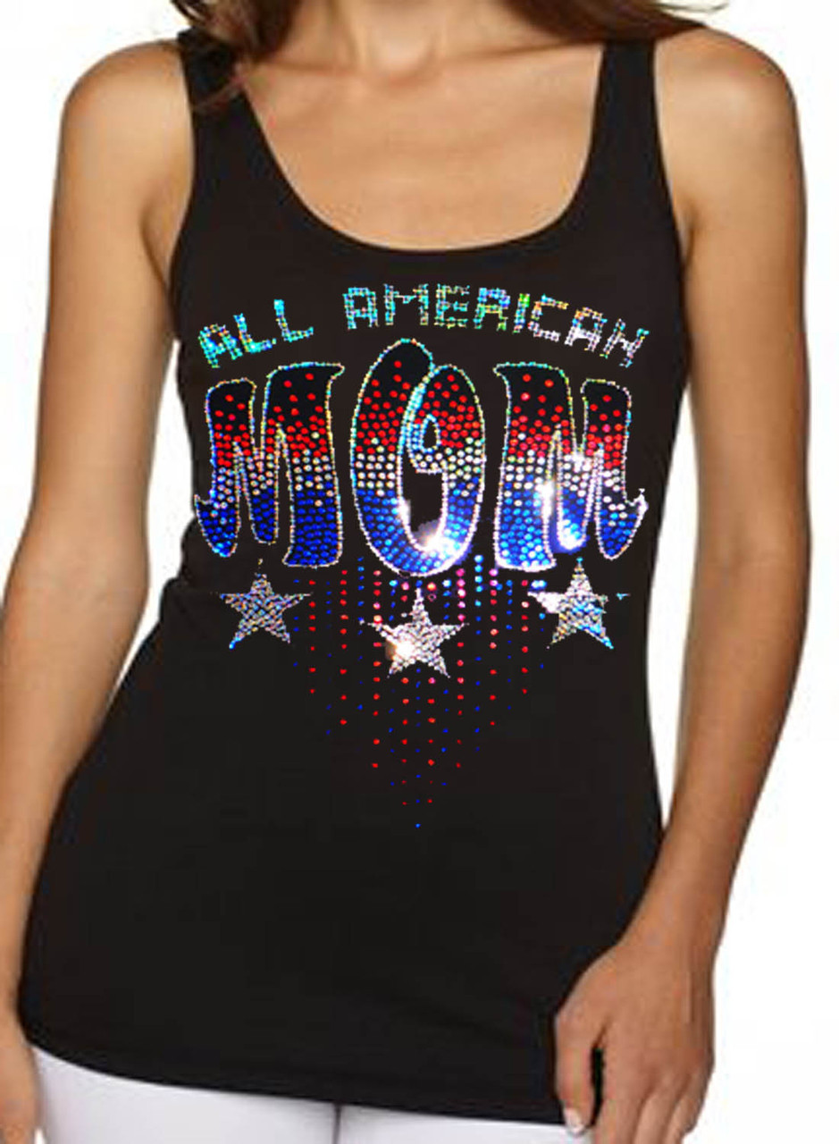 All American Mom Women's Tank Top