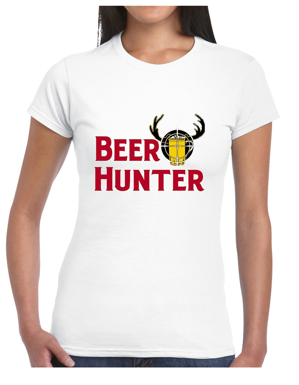 Beer Hunter Women's Short Sleeve T-Shirt