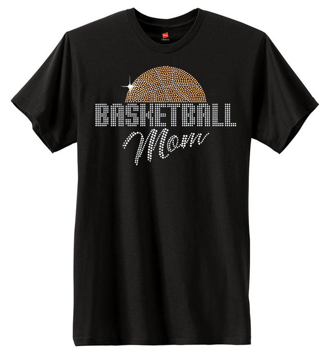 Basketball Mom Sequin T-Shirt