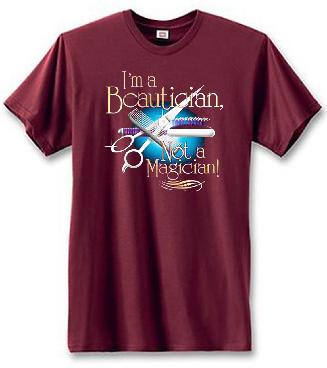 Beautician Not Magician Men's T-Shirt