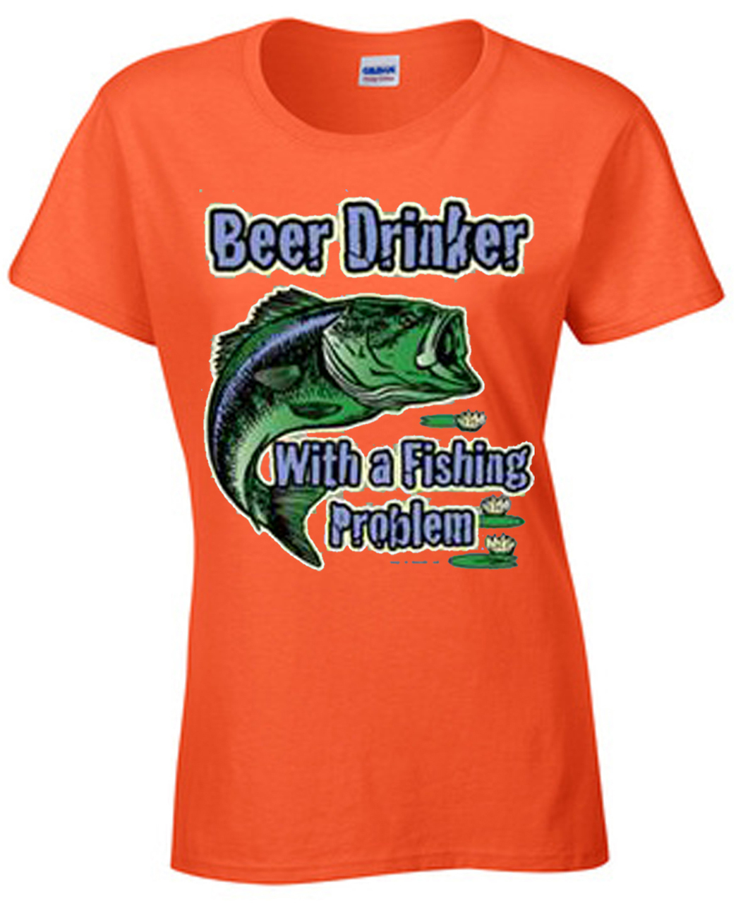 Beer Drinker With A Fishing Problem T-Shirt