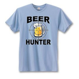Beer Hunter Mug Men's Short Sleeve T-Shirt