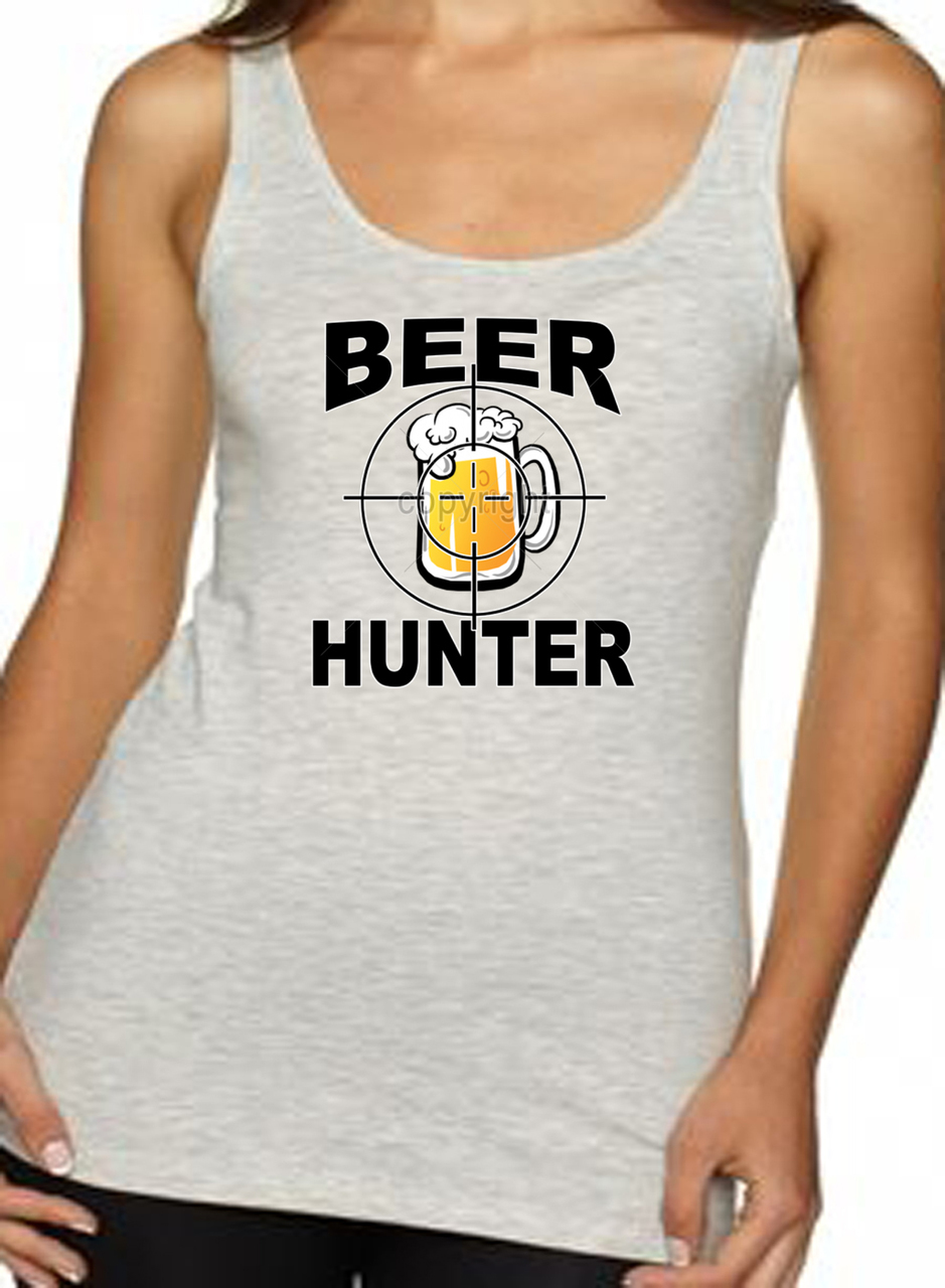 Beer Hunter Mug Women's Tank Top