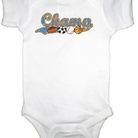Sports Champ Infant Bodysuit