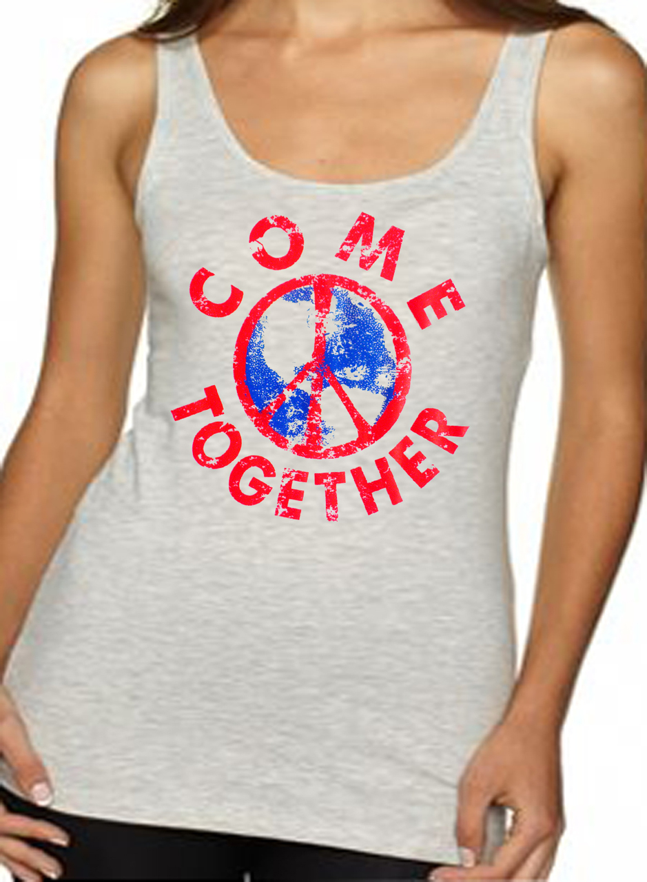 Come Together Peace Women's Tank Top