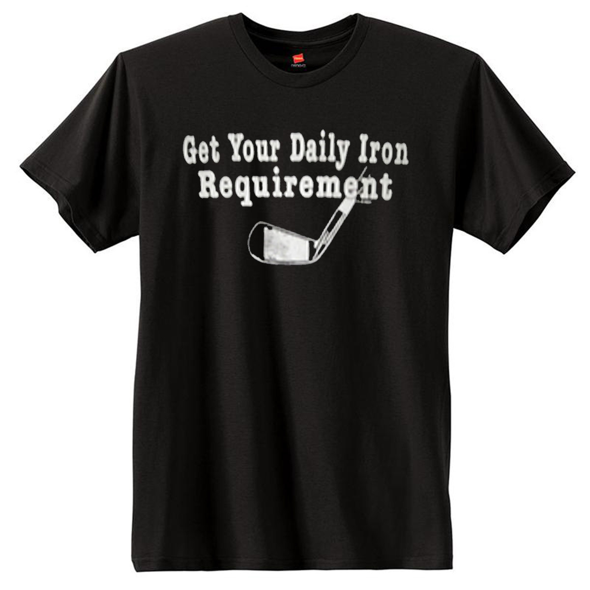 Daily Iron Requirement Golf T-Shirt