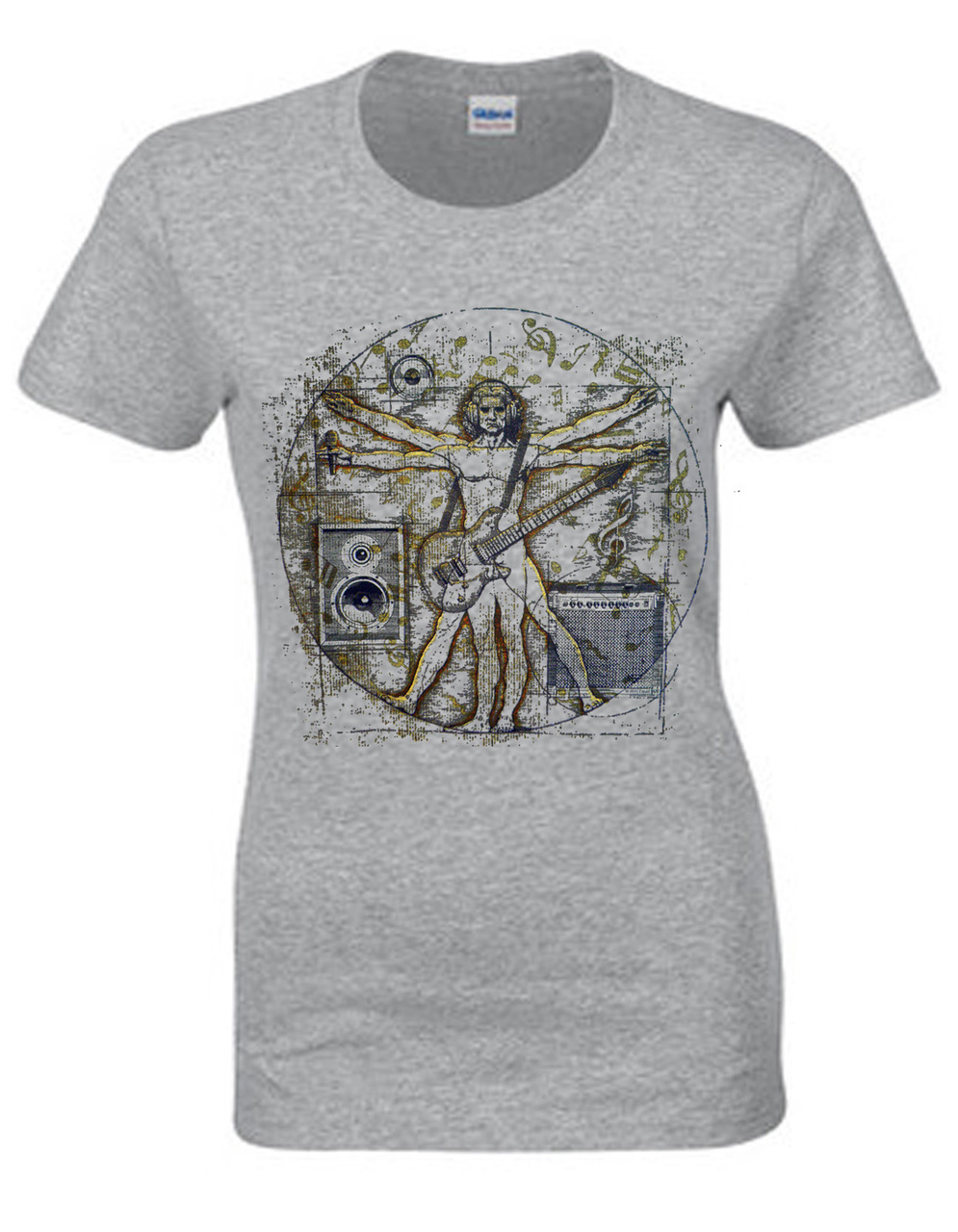 Davinci Rocker Women's Short Sleeve T-Shirt