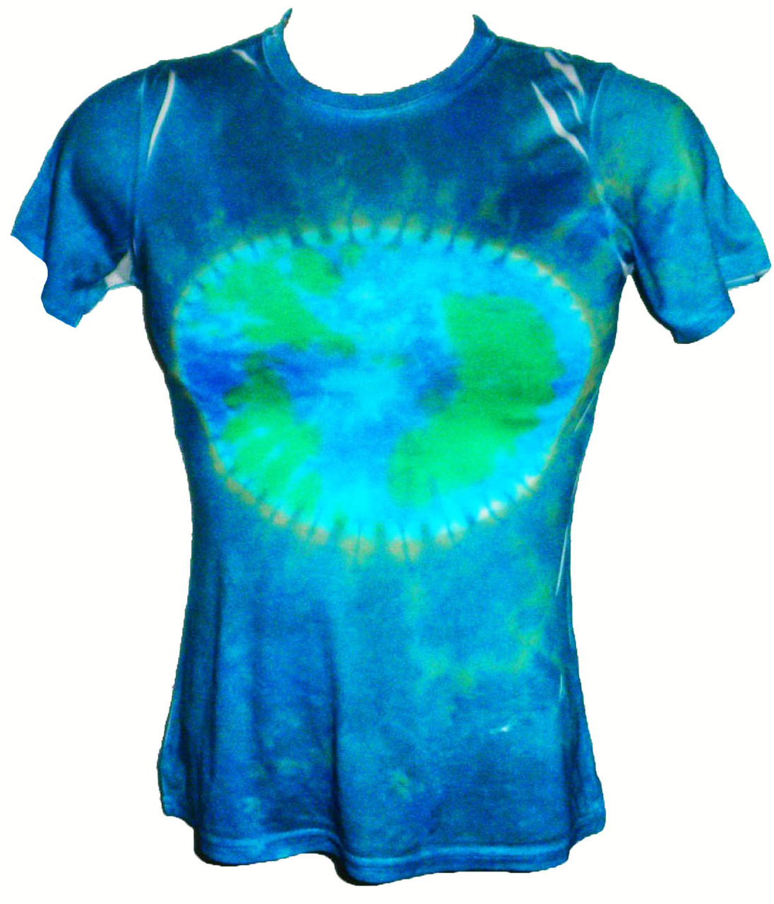 Earth Day Ladies Tie Dye T-Shirt