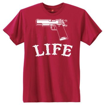 Gun Life Men's Short Sleeve T-Shirt