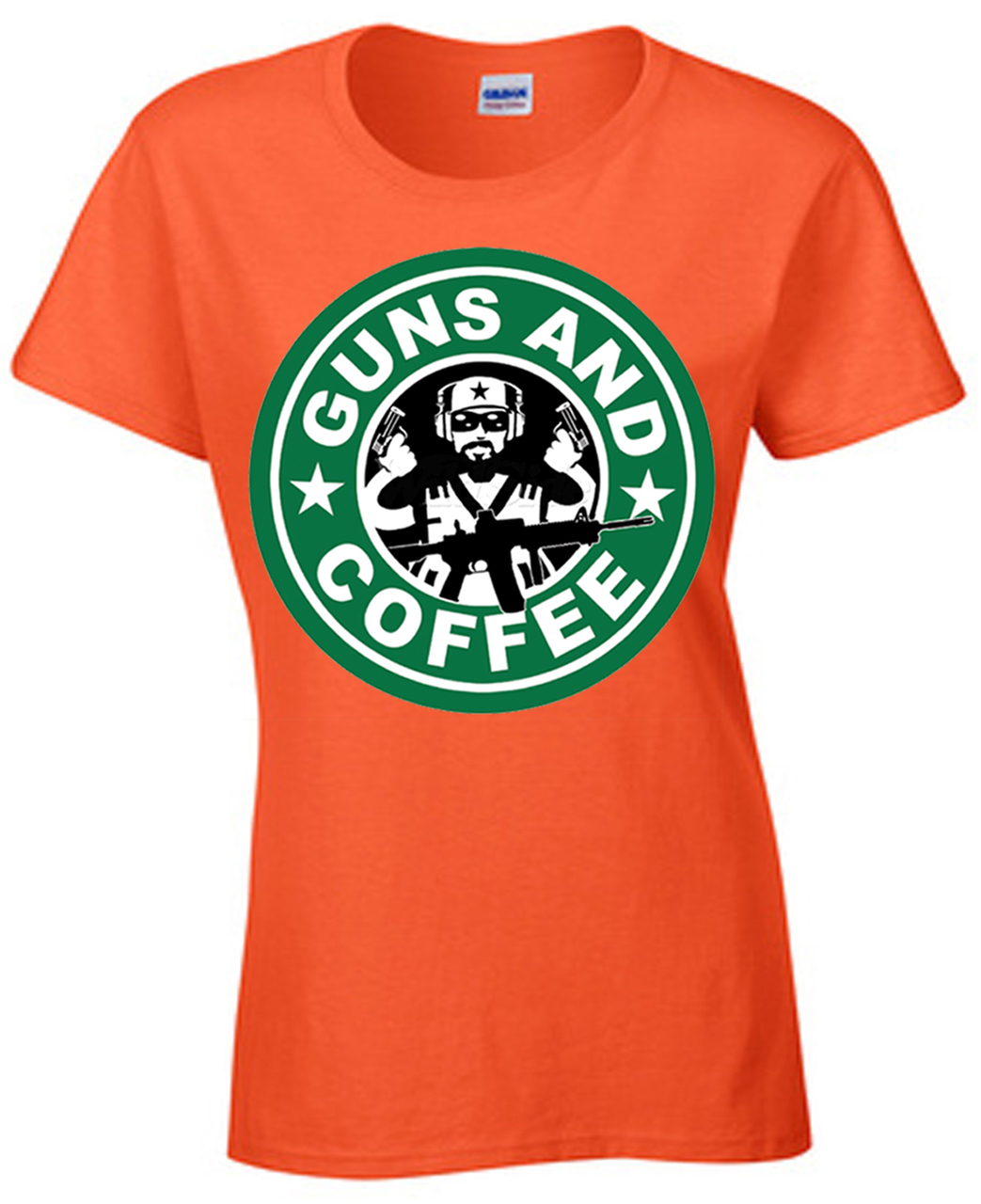 Guns & Coffee Guy T-Shirt