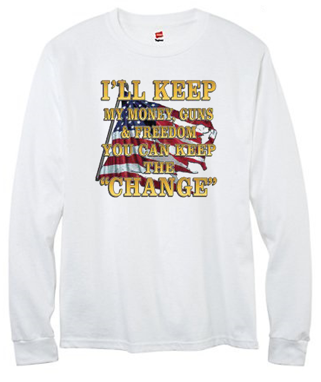 Keep the Change Men's Long Sleeve T-Shirt