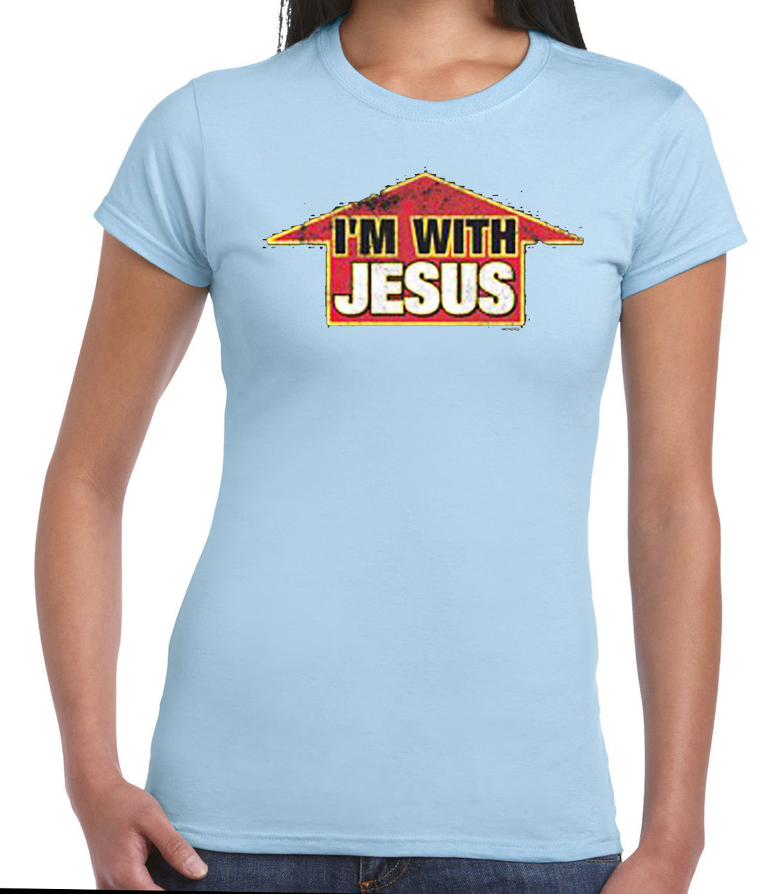 I'm with Jesus T-Shirt