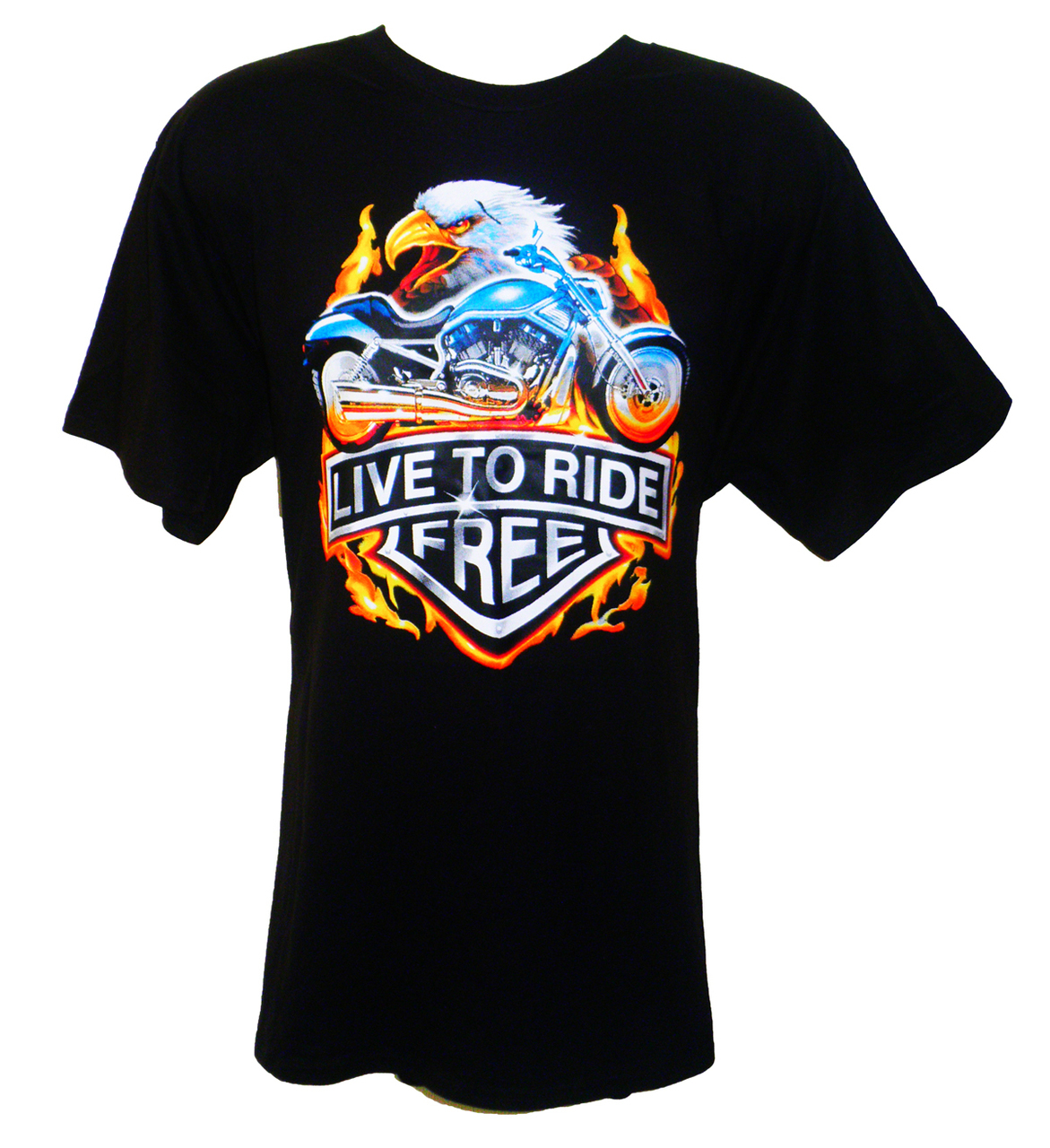 Live to Ride Free T-Shirt