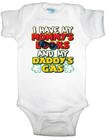 Mommys Looks Daddys Gas Infant Bodysuit
