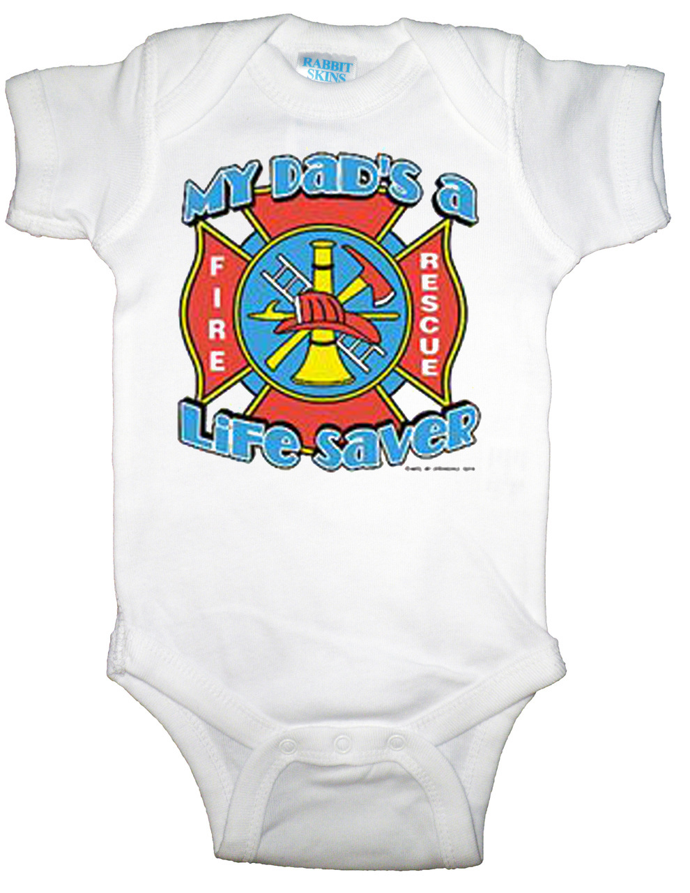 Firefighter Daddy Infant Bodysuit