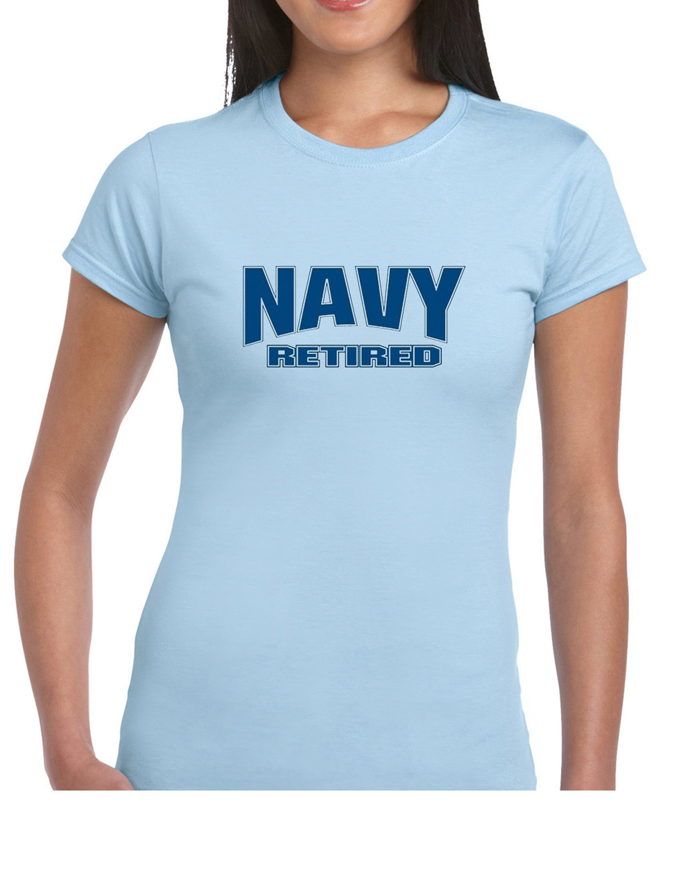 Navy Retired Blue T-Shirt