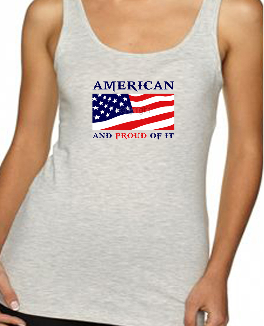 American And Proud Of It Women's Tank Top
