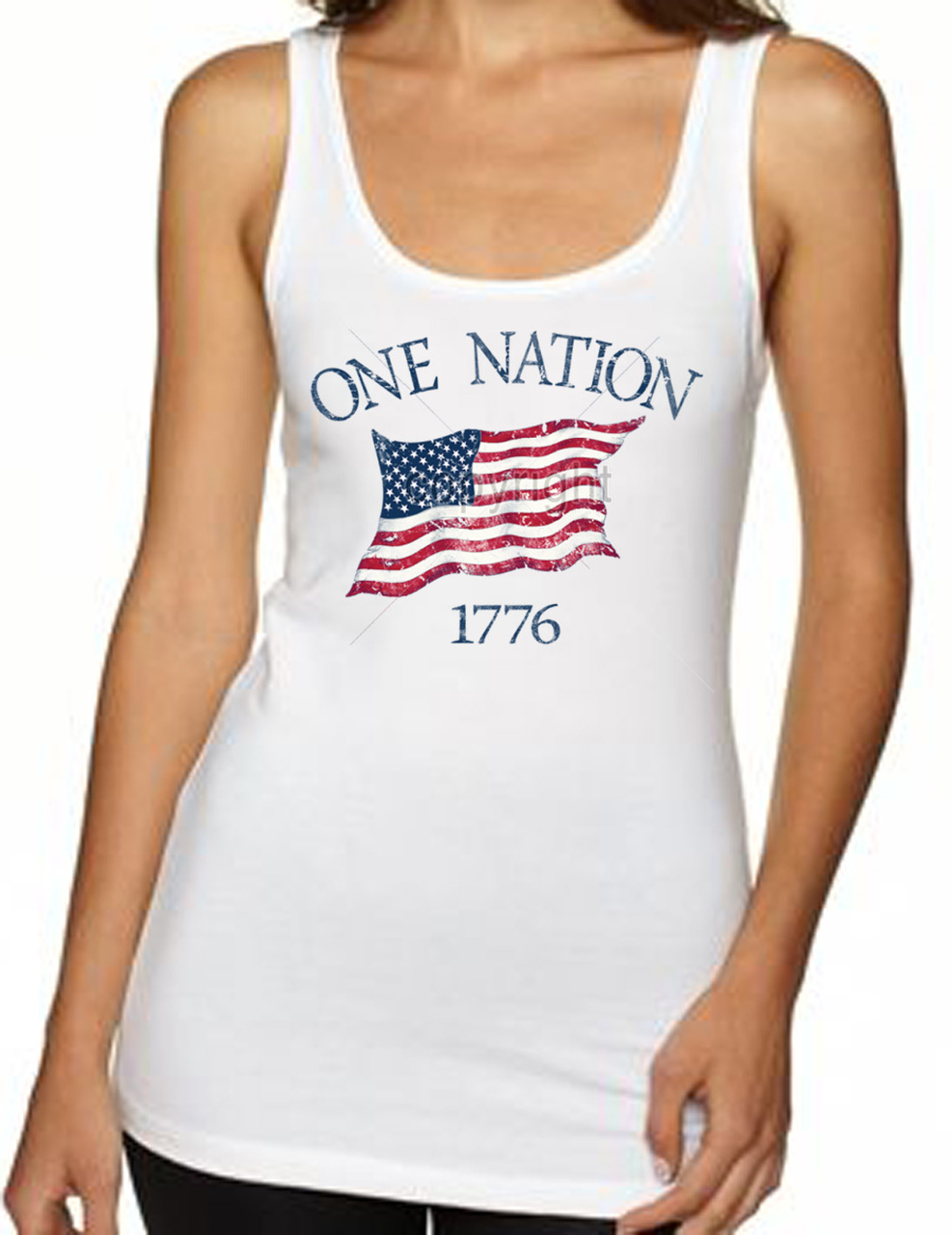 One Nation 1776 Women's Tank Top