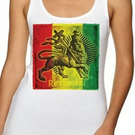Rastafari Lion Women's Tank Top