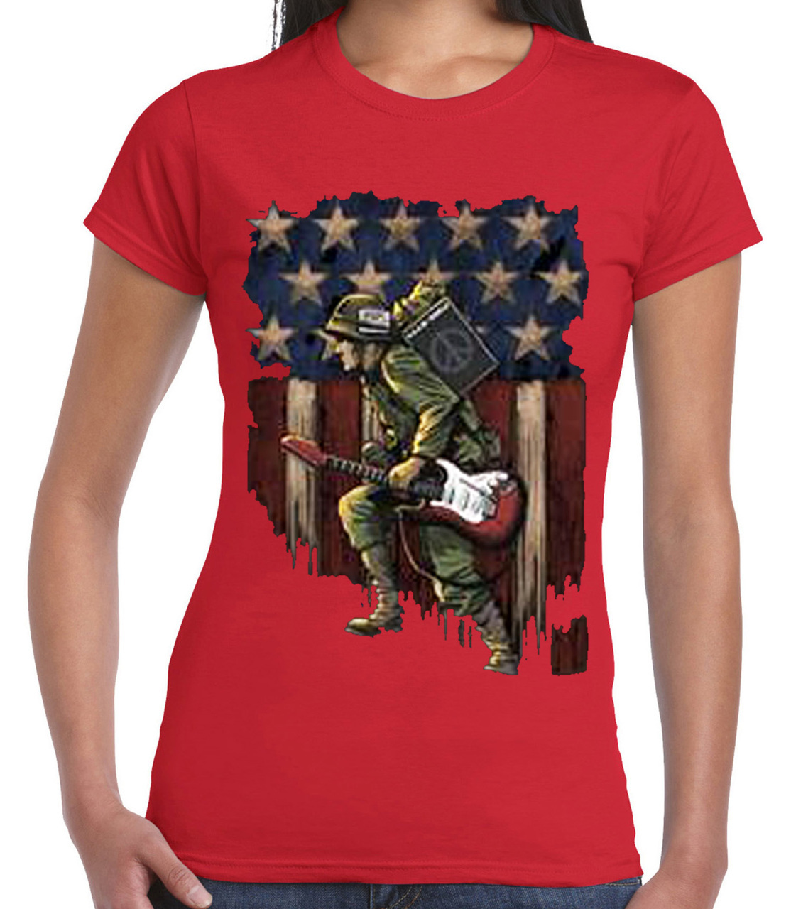 Rebel With A Cause Women's Short Sleeve T-Shirt