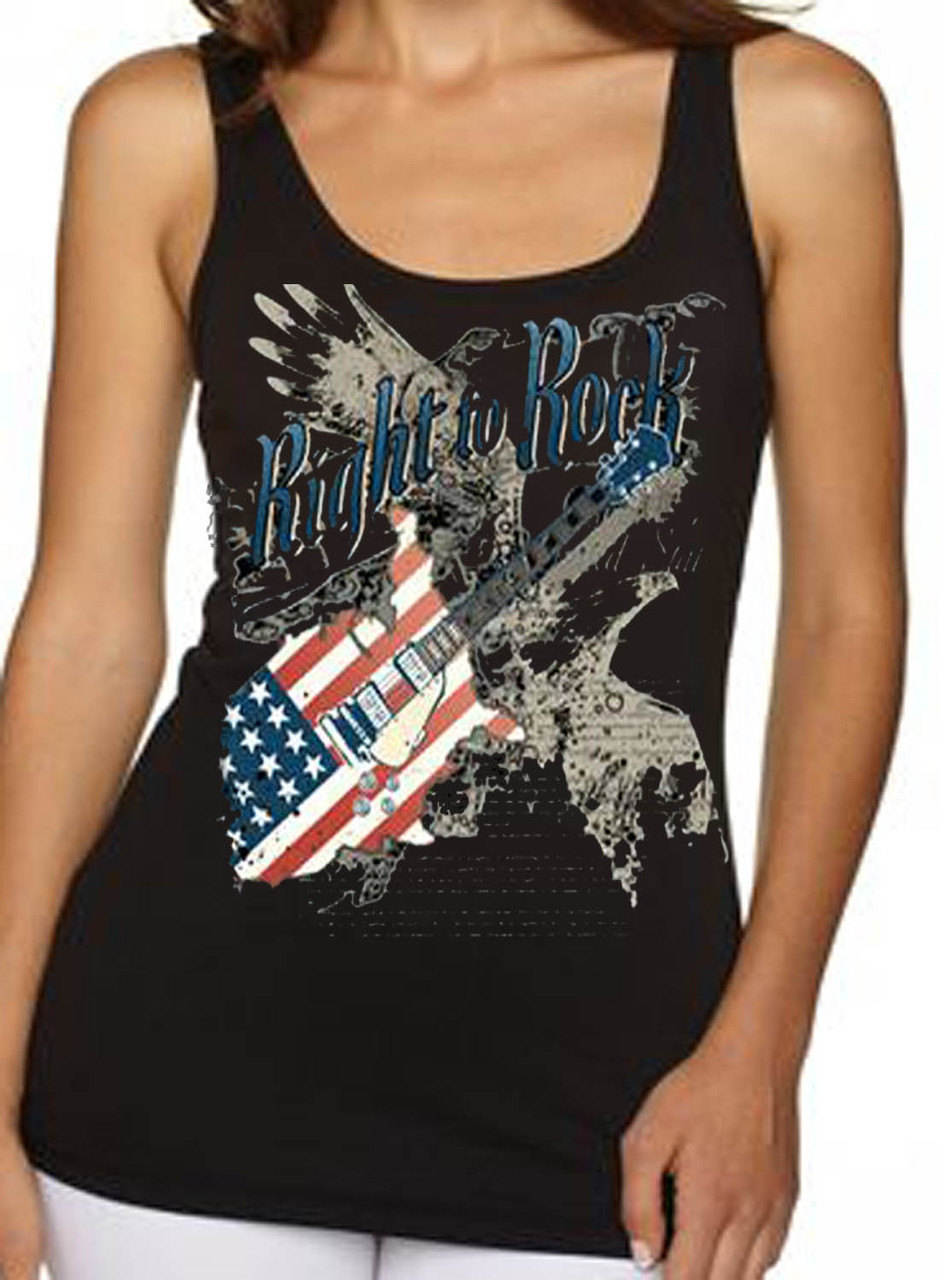 Right To Rock Women's Tank Top