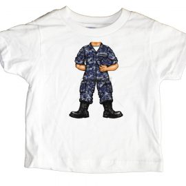 US Navy Uniform Soldier Toddler T-Shirt