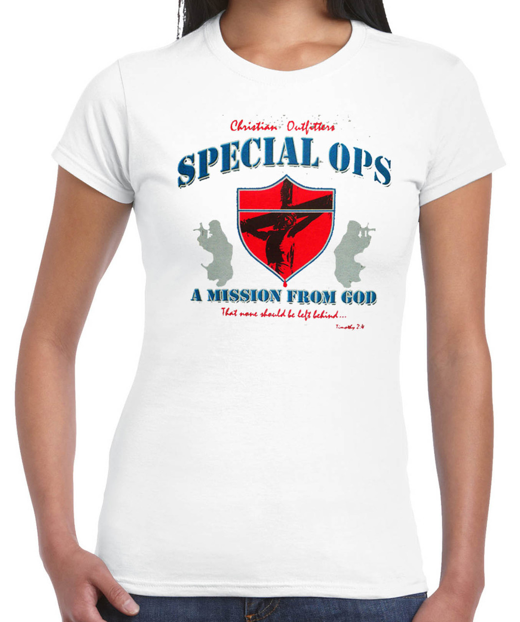 Special Ops Christian Outfitters T-Shirt