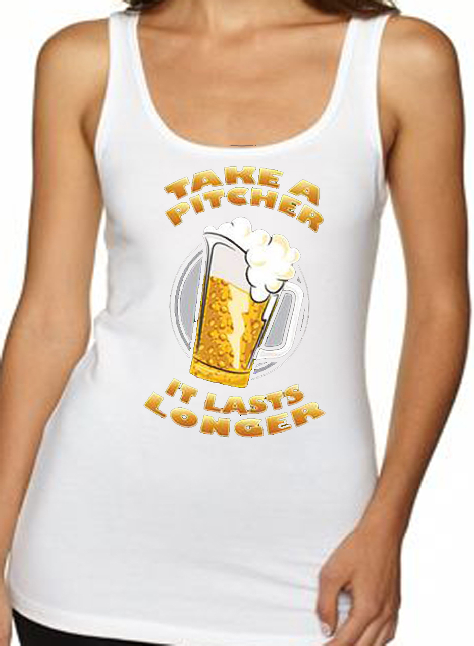 Take A Pitcher Beer Women's Tank Top