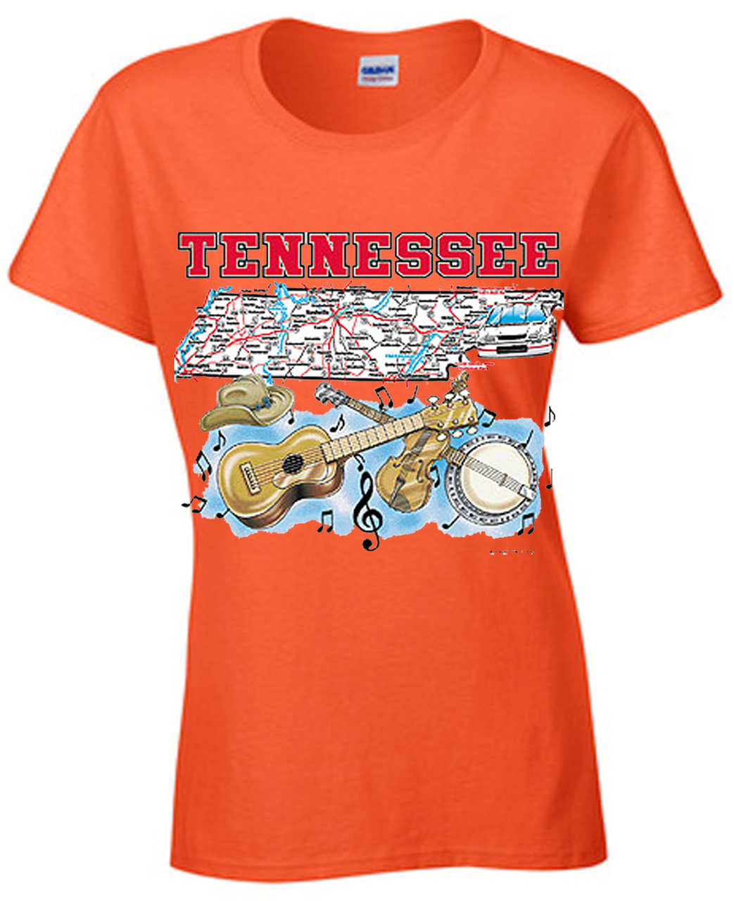 Tennessee Country Music State T-Shirt