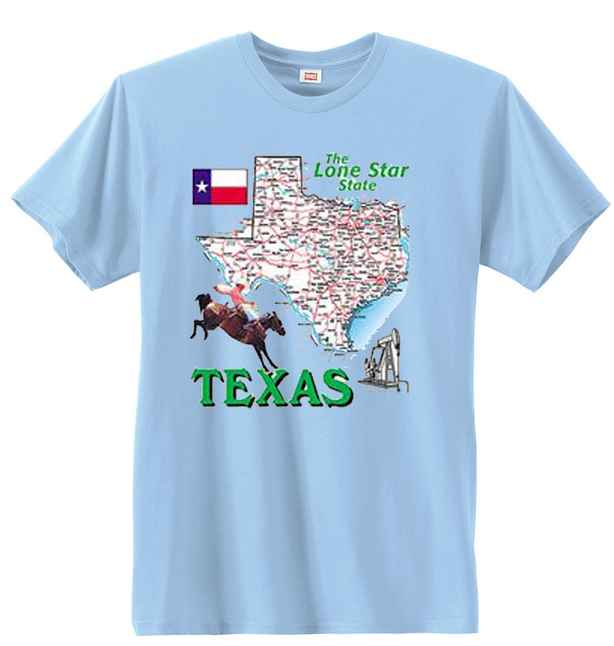 Texas The Lone Star State T-Shirt