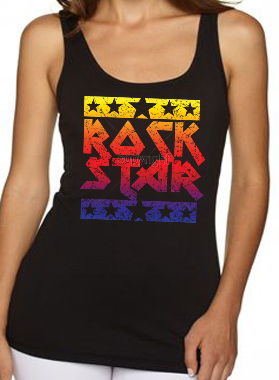 Rock Star Women's Tank Top