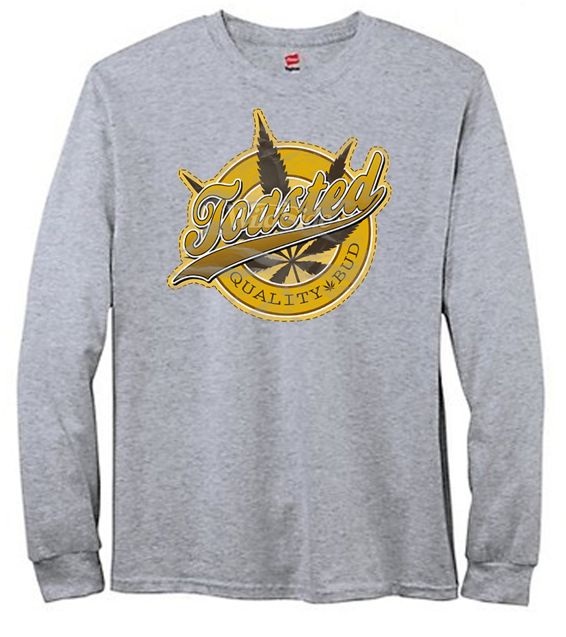 Toasted Quality Buds Men's Long Sleeve T-Shirt