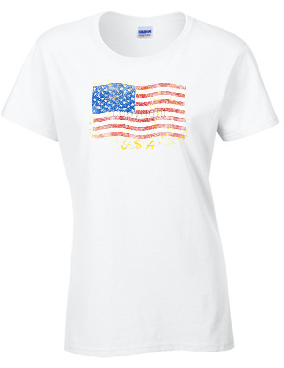 USA Faded Flag T-Shirt