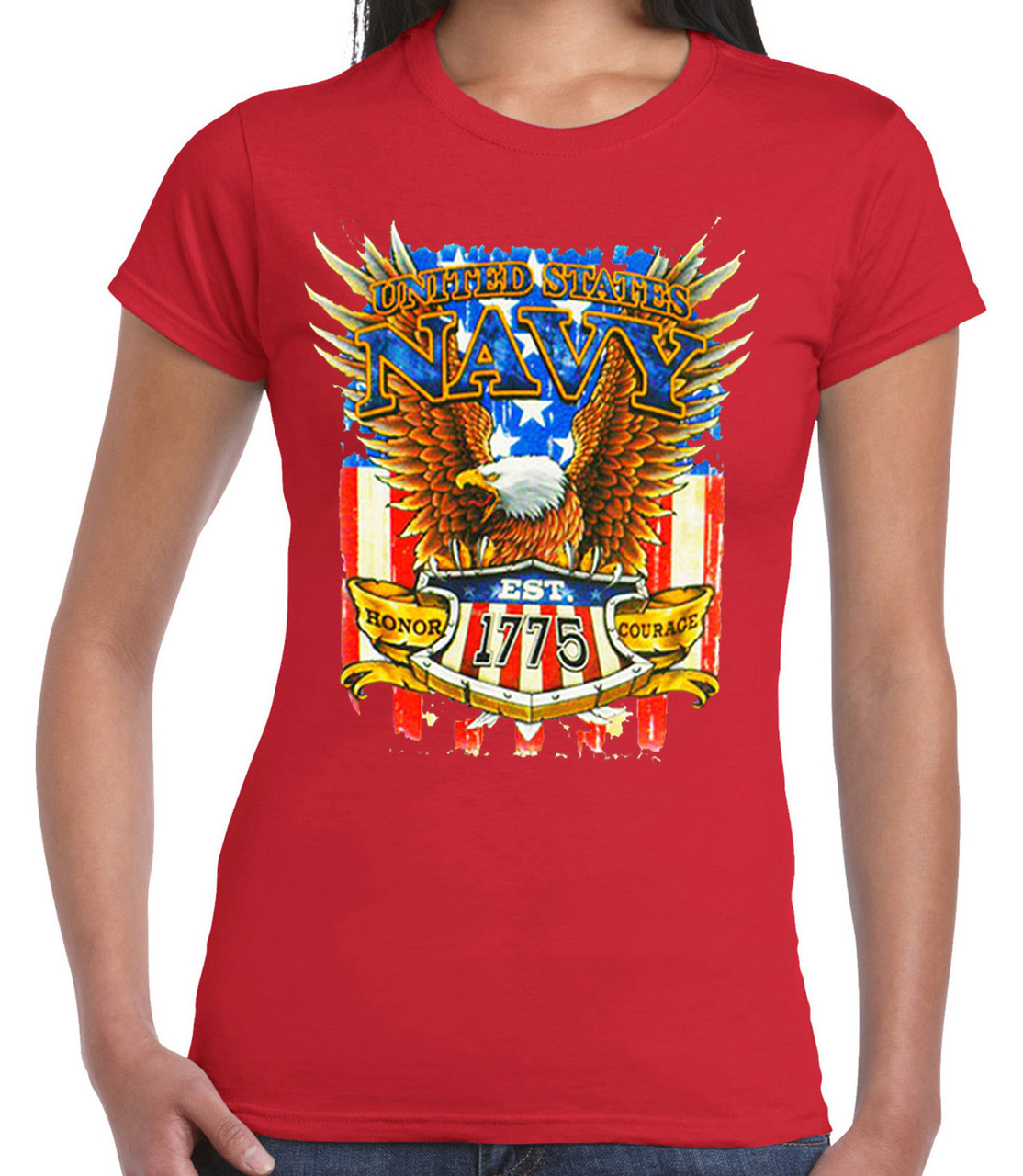 United States Navy EST 1775 T-Shirt