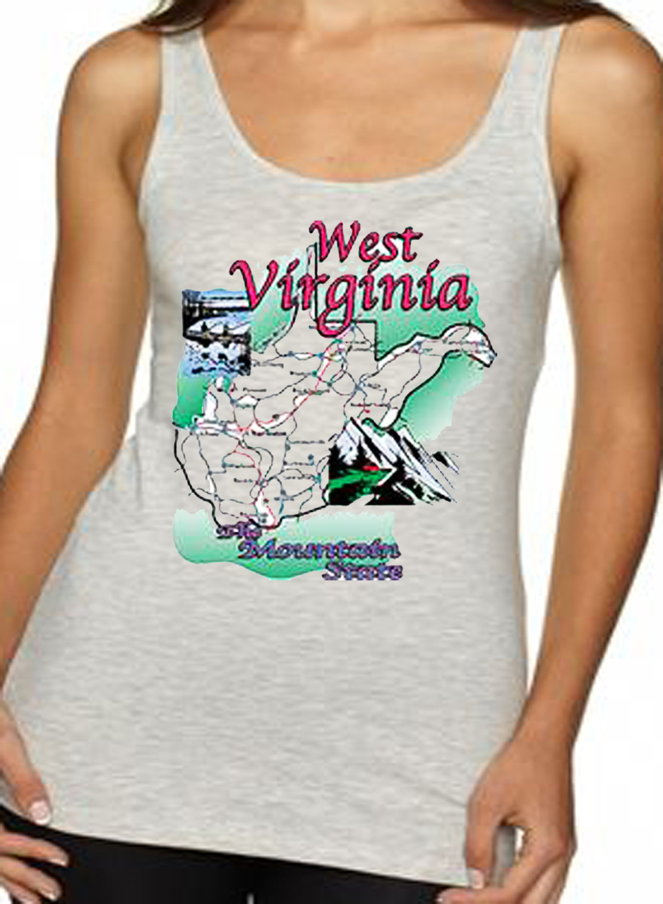West Virginia The Mountain State T-Shirt