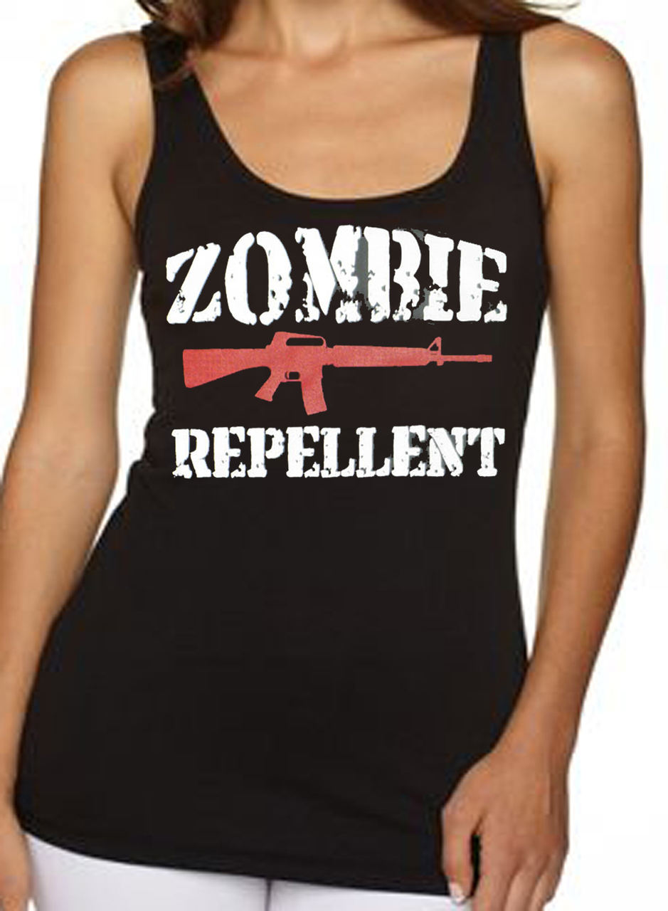 Zombie Repellent Women's Tank Top