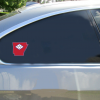 Arkansas Flag State Shaped Sticker Car Sticker