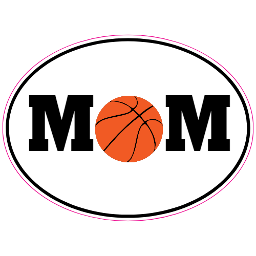 Basketball Mom Sticker | U.S. Custom Stickers