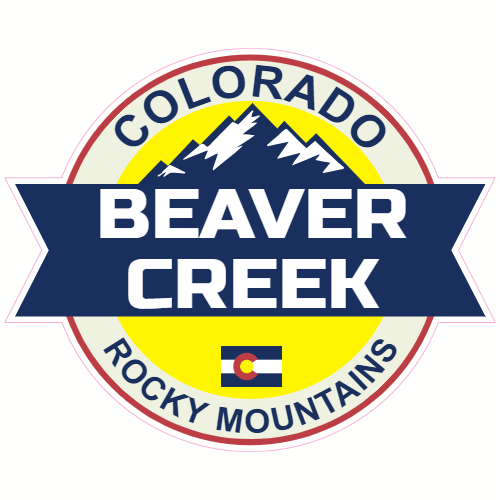 Beaver Creek Colorado Rocky Mountains Sticker | U.S. Custom Stickers