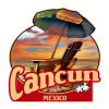 Cancun Mexico Beach Sticker | U.S. Custom Stickers