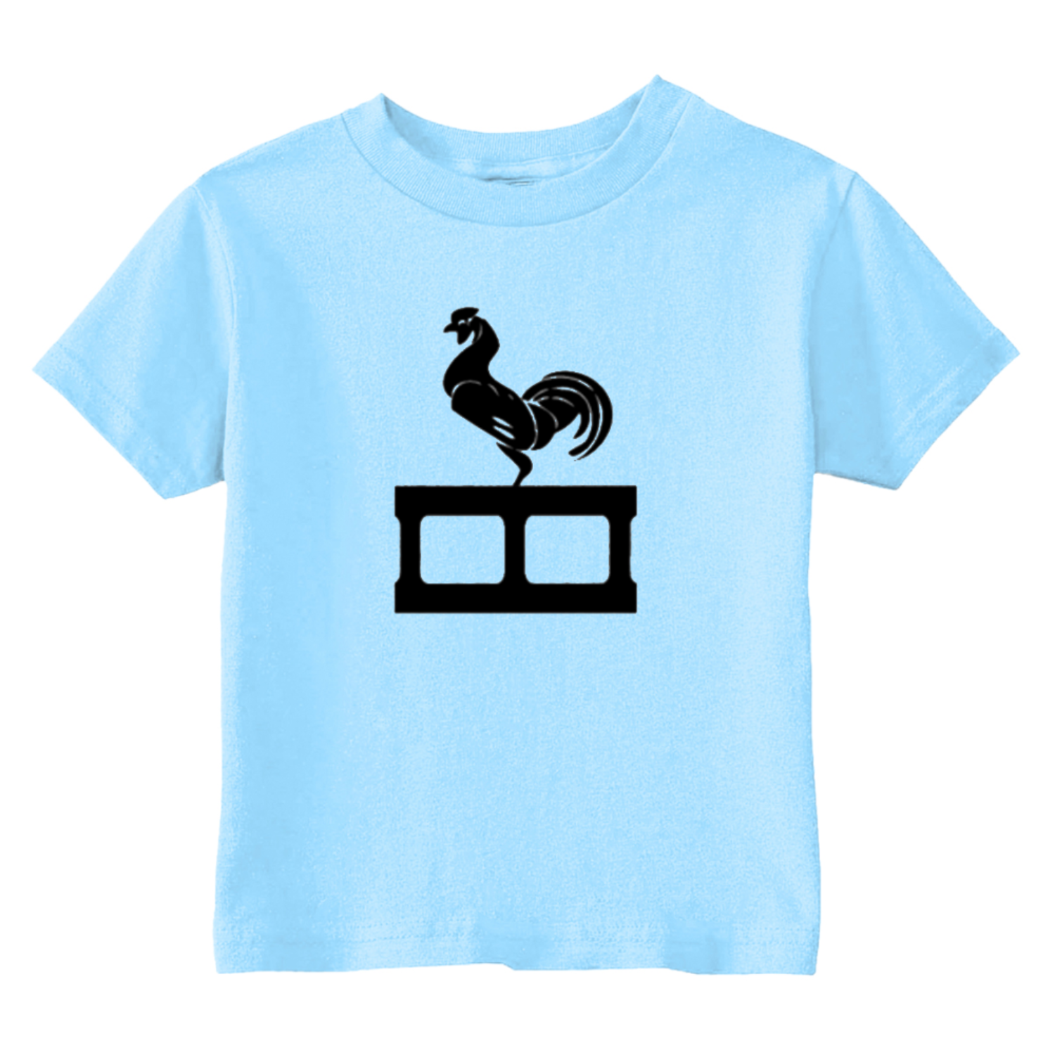 Cock Blocker Toddler T-Shirt Light Blue
