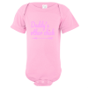 Daddy's Other Chick Baby Bodysuit Light Pink