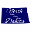 North Dakota Stickers