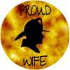 Proud Wife Fire Fighter Sticker | U.S. Custom Stickers