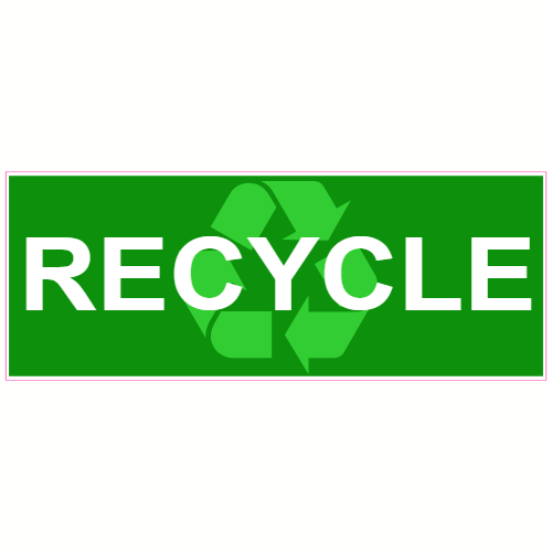 Recycle Green Sticker | U.S. Custom Stickers