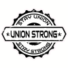 Stay Union Stay Strong Sticker | U.S. Custom Stickers