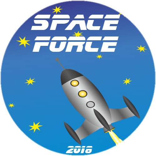 This Is What Space Force Will Look Like Sticker | U.S. Custom Stickers